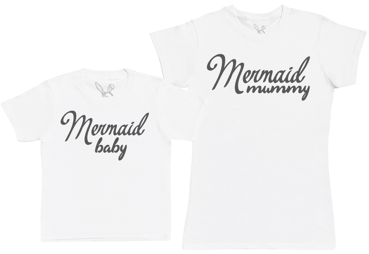 Mermaid Baby - Kid's Gift Set with Kid's T-Shirt & Mother's T-Shirt