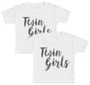 Twin Girls Baby T-Shirt Twin Set