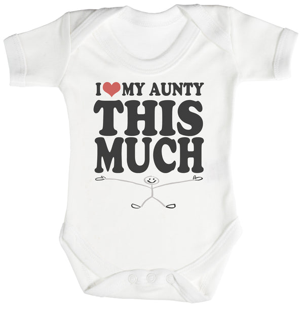 Love Aunty This Much Baby Bodysuit / Babygrow