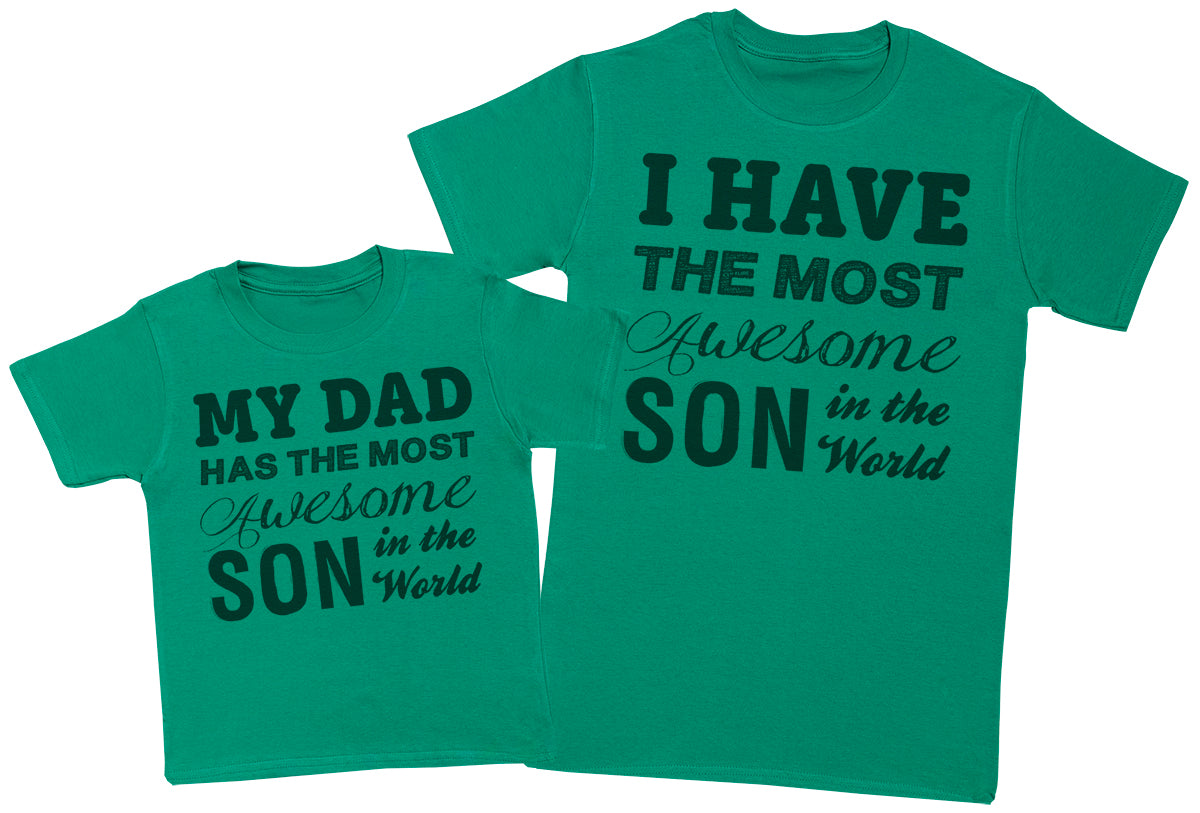 Awesome Son - Mens T-Shirt & Kids T-Shirt