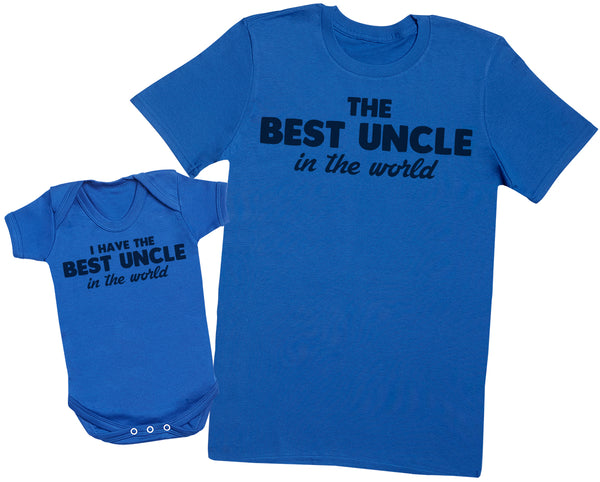 I Have The Best Uncle In The World - Uncle T Shirt & Baby Bodysuit
