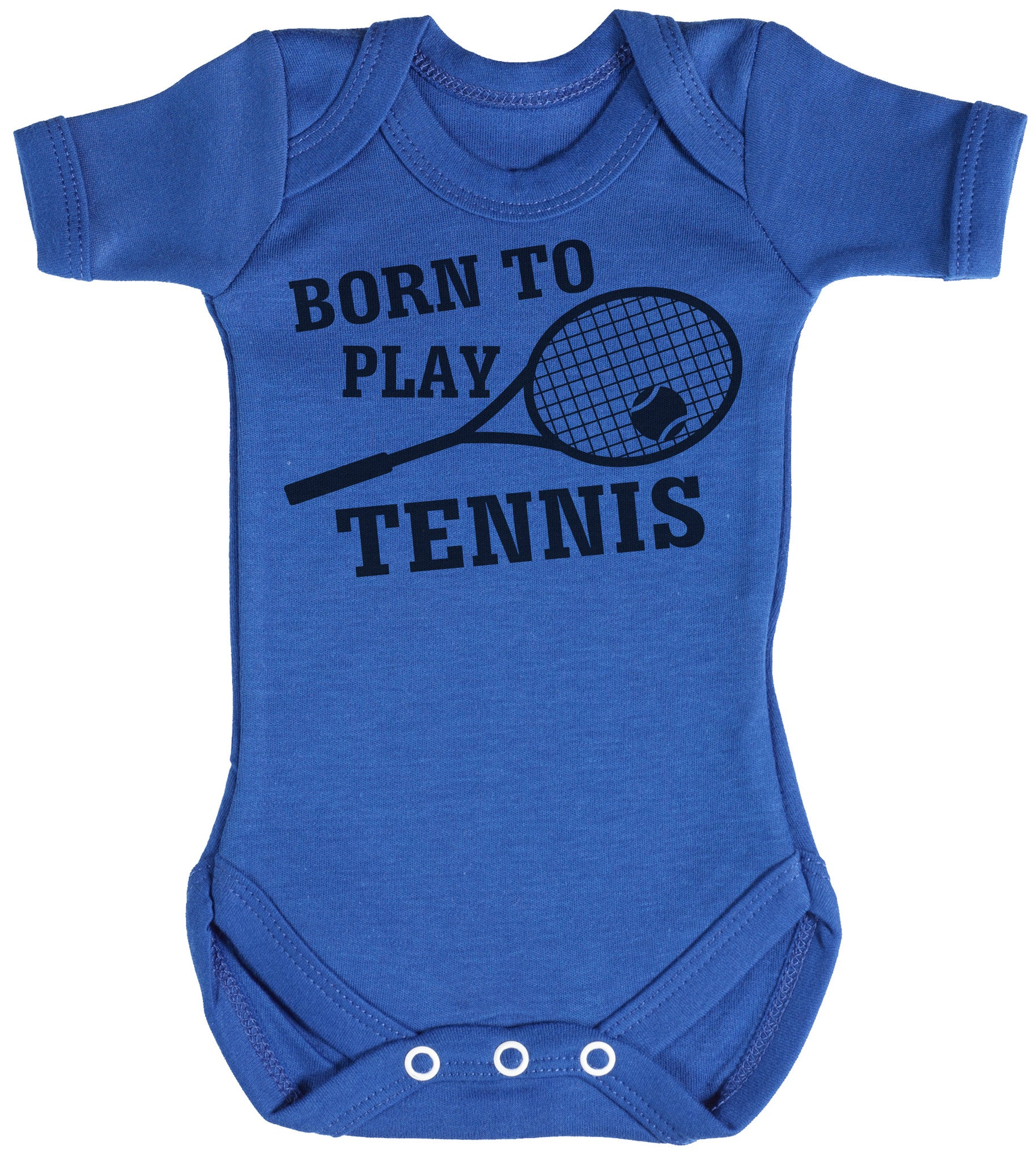 My Auntie Loves Me not Tennis Baby Vests Bodysuits Baby Grows Graphic Print