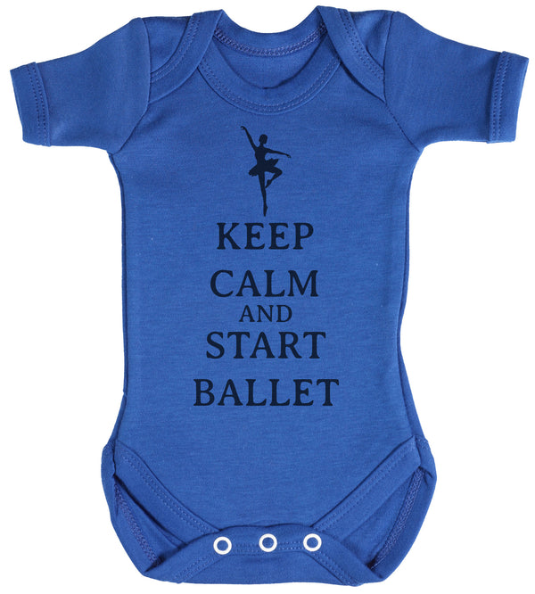 Calm Start Ballet Baby Bodysuit / Babygrow