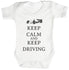 Calm Keep Driving Baby Bodysuit / Babygrow