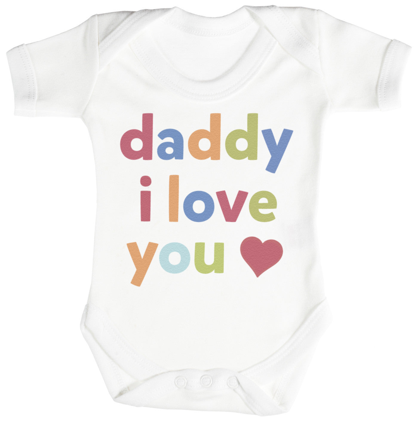 Daddy I Love You Baby Bodysuit Babygrow