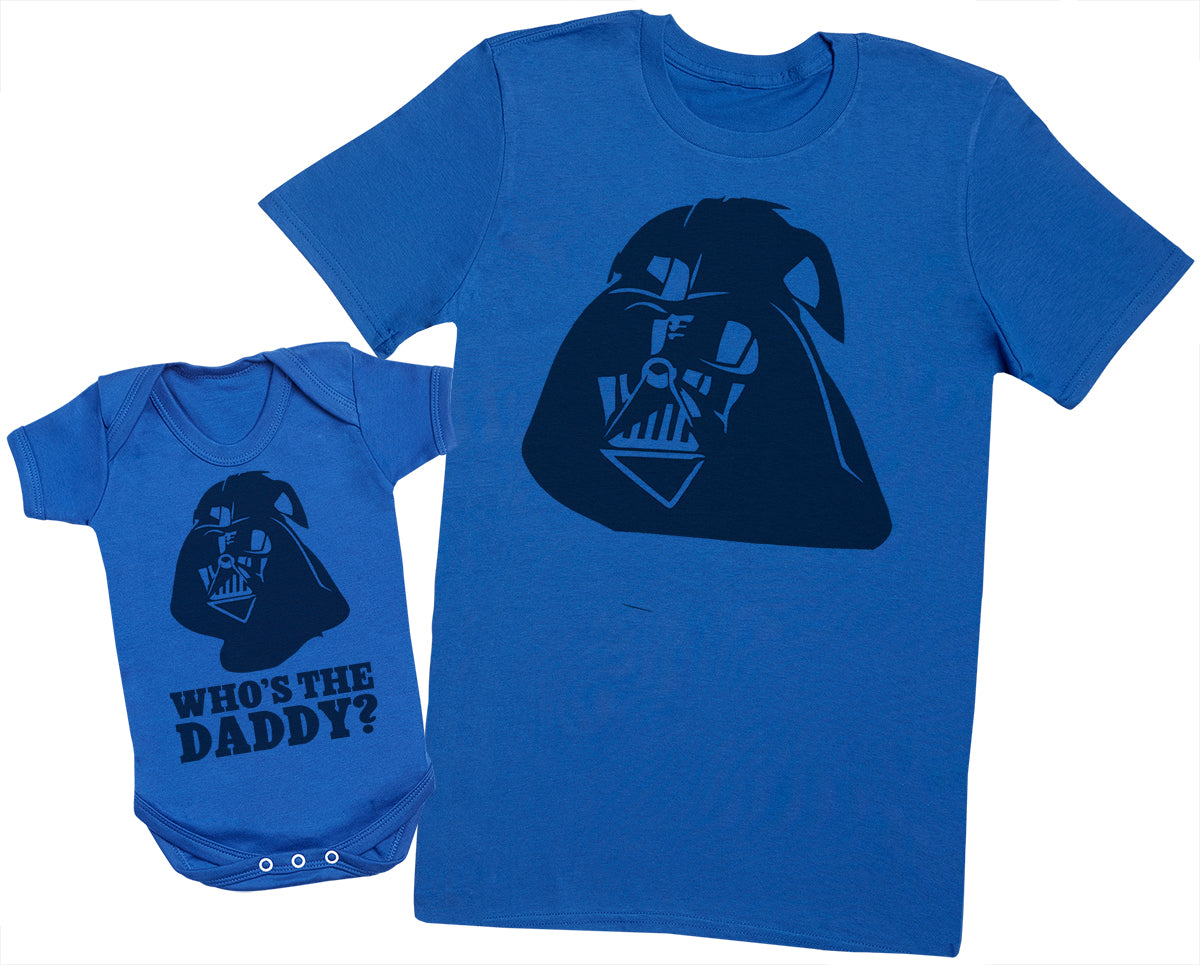 Who's The Daddy? - Mens T Shirt & Baby Bodysuit