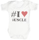 #I Love My Uncle Baby Bodysuit / Babygrow