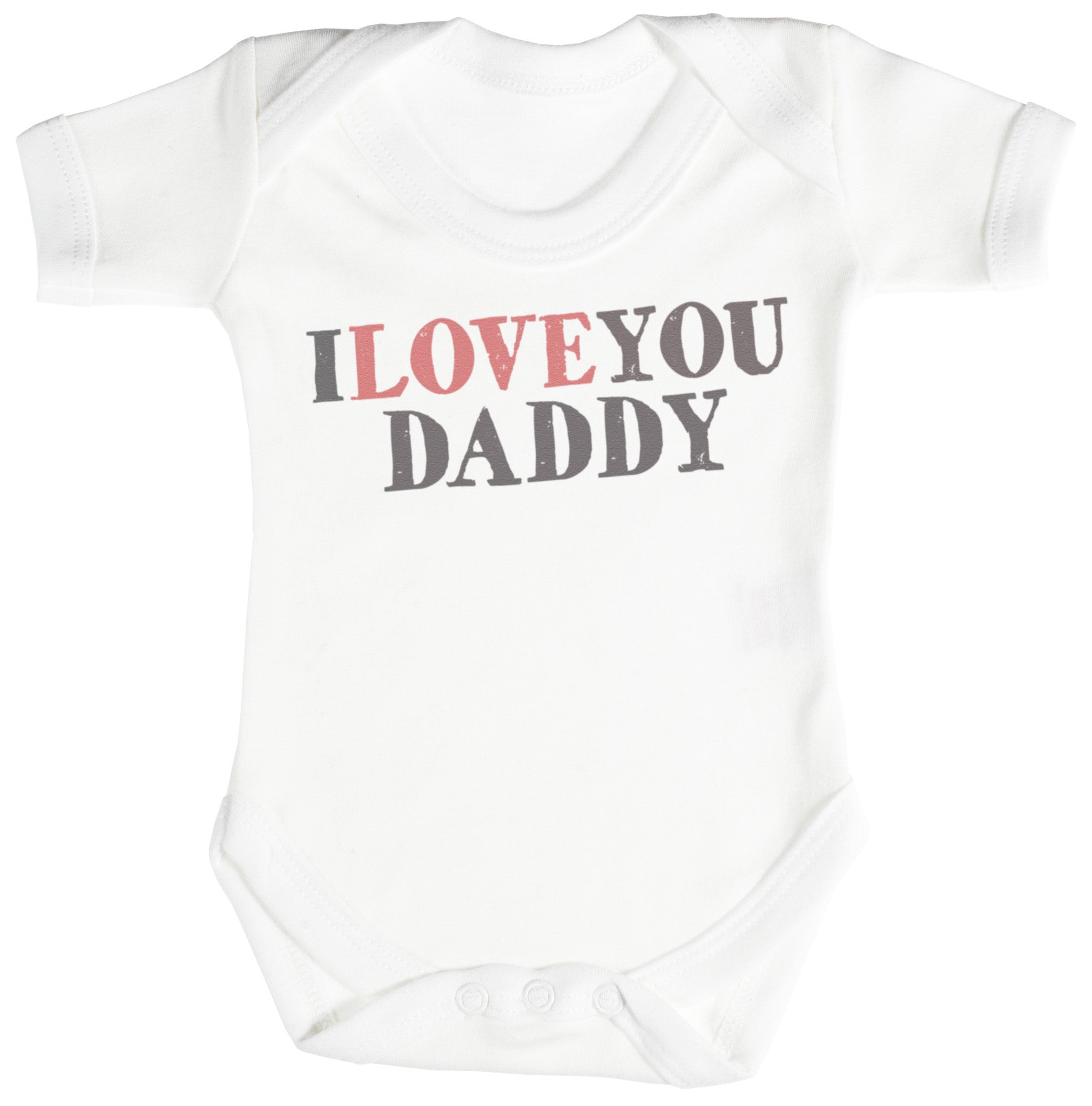 I Love You Daddy Baby Bodysuit / Babygrow