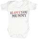I Love You Mummy Baby Bodysuit / Babygrow