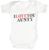 I Love You Aunty Baby Bodysuit / Babygrow