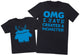OMG I've Created A Blue Monster! - Mens T-Shirt & Kids T-Shirt