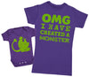 OMG I've Created A Green Monster!- Mothers T-Shirt & Baby Bodysuit
