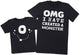 OMG I've Created A White Monster! - Mens T-Shirt & Kids T-Shirt