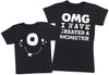 OMG I've Created A White Monster! - Womens T-Shirt & Kids T-Shirt