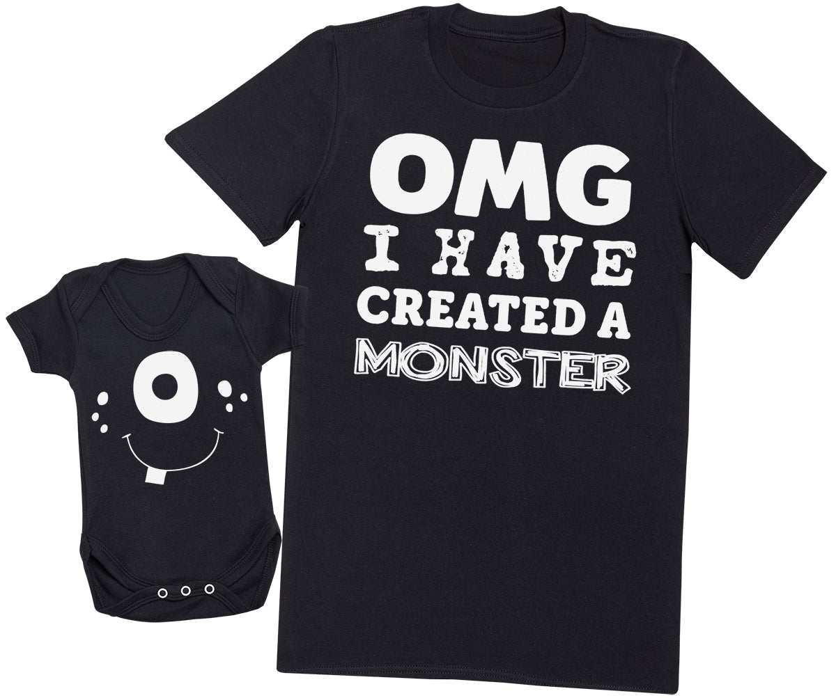 OMG I've Created a White Monster! - Mens T Shirt & Baby Bodysuit