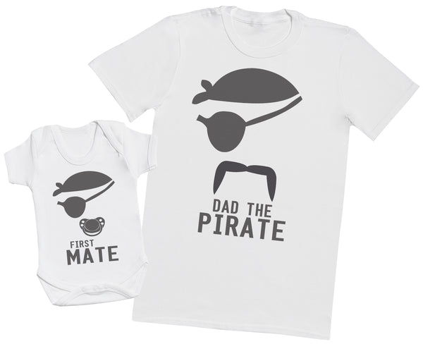 Future Pirate Baby - Mens T Shirt & Baby Bodysuit