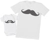 Moustashe - Mens T Shirt & Baby Bodysuit