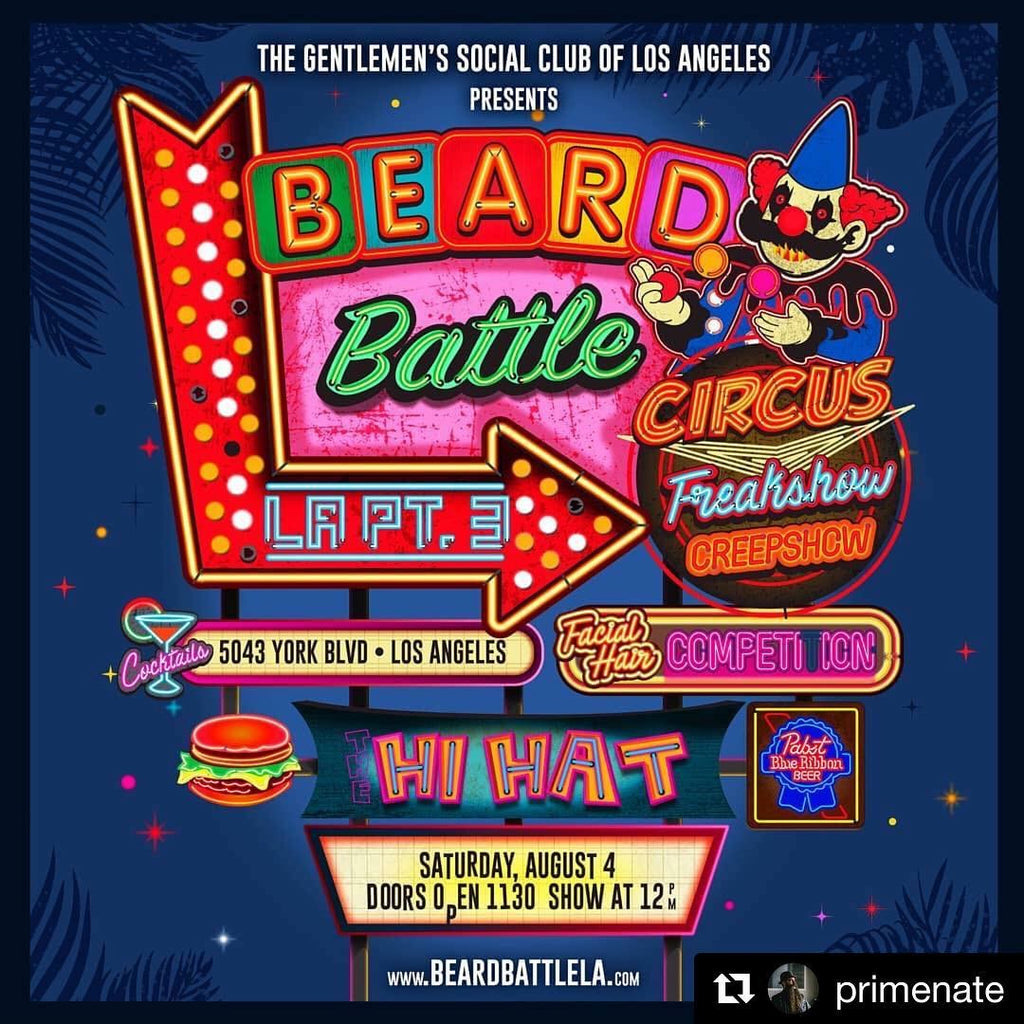CSBCandles at SoCal's Largest Beard & Mustache Competition