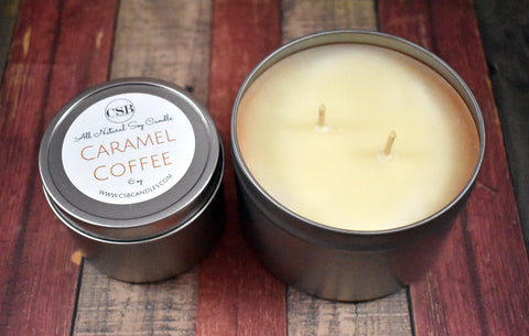 Caramel Coffee - Soy Candle