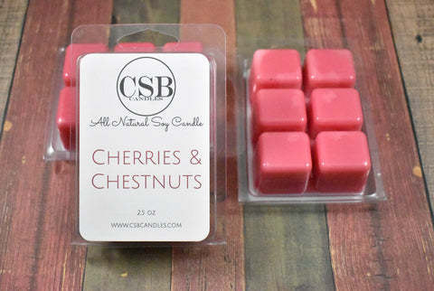 Cherries & Chestnuts - Soy Wax Melt