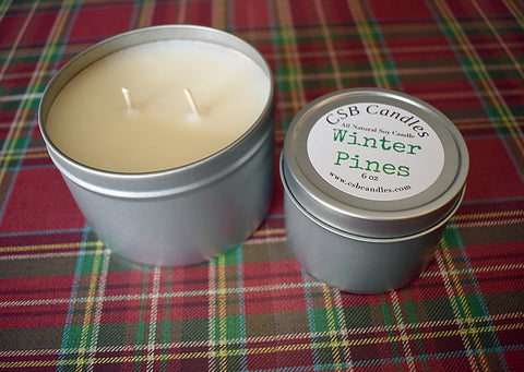Winter Pines - Soy Candle