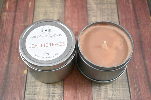 Leatherface - Soy Candle