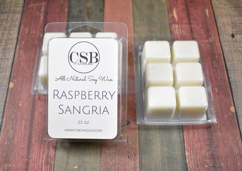 Raspberry Sangria - Soy Wax Melt