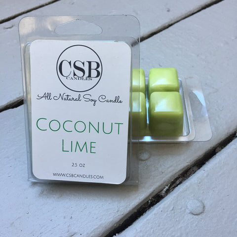 Coconut Lime - Soy Wax Melt