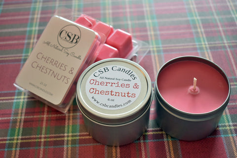 Cherries & Chestnuts - Soy Candle