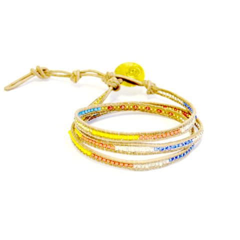 Good Karma 3x Wrap Bracelet