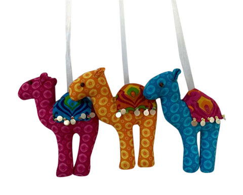 Colorful Camel Ornament
