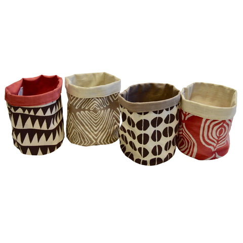 Tribal Textiles Medium Storage Bin