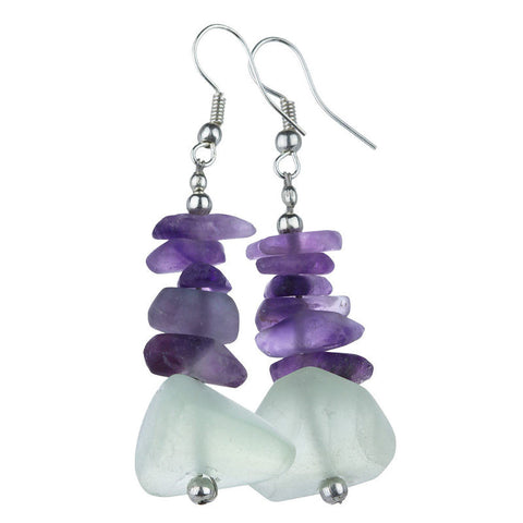 Afghan Fluorite Simplicity Earrings