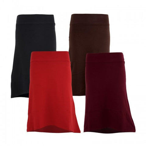 Organic High Low Skirt