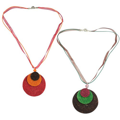 Swaziland Eclipsing Disk Necklace