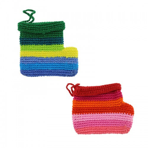 Crochet Stocking Ornament