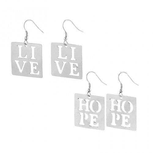 Live Hope Love Earrings