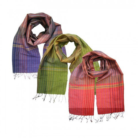 Royal Weave Silk Scarf