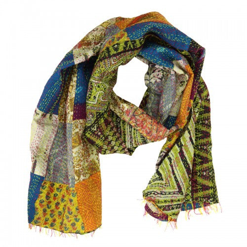 Heirloom Sari Silk Scarf