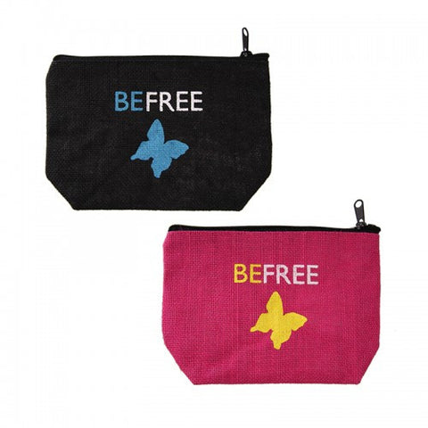 Be Free Butterfly Pouch