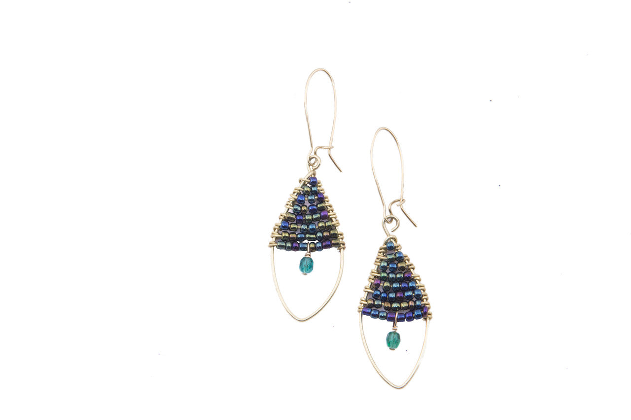 adrianna papell earring crown wire french earrings jewel