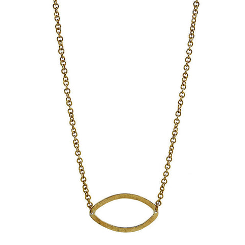 Chui Brass Necklace