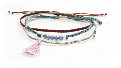 World Tribe Bracelets - Peace