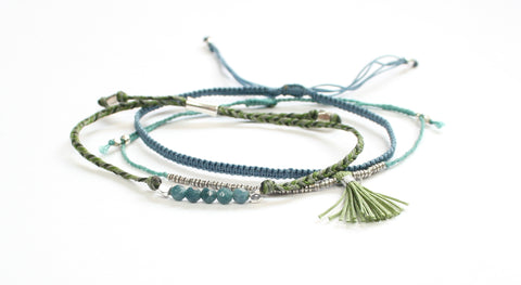 World Tribe Bracelets - Ocean