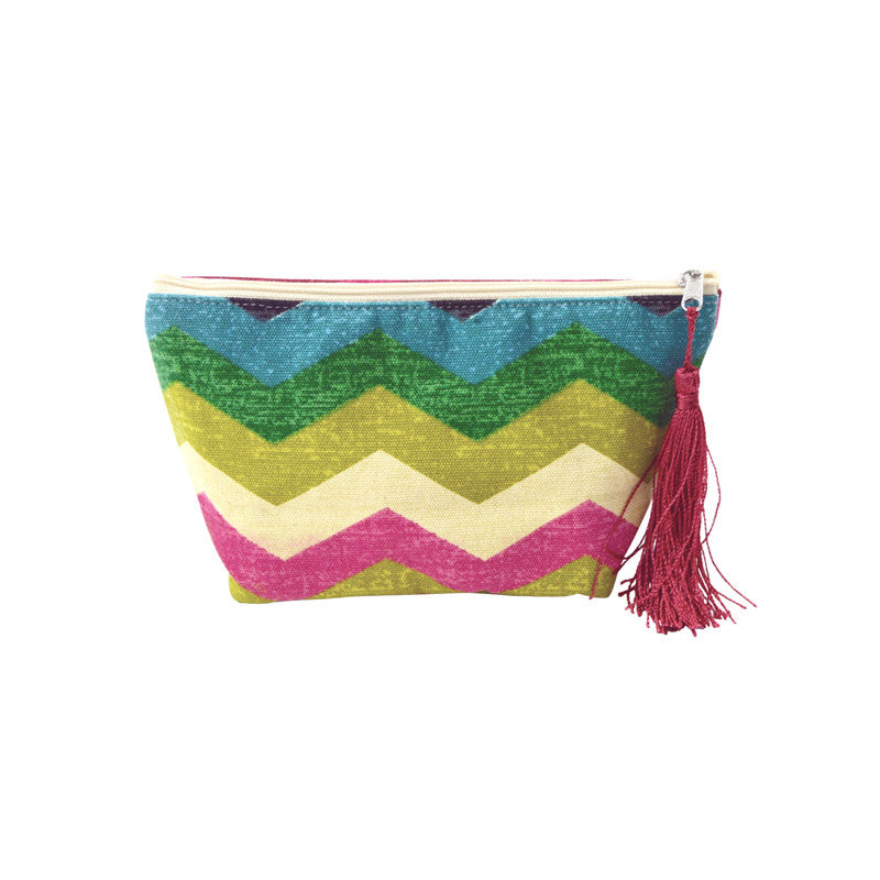 Clever Chevron Pouch