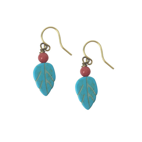 World of Color Leaf Earrings