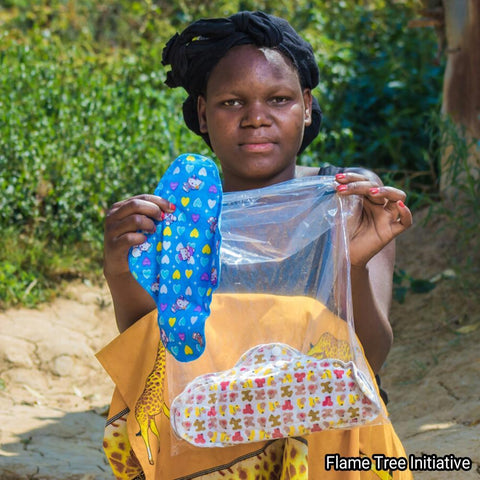 Menstrual kits – Provide Reusable Pads to Help Keep Girls in School
