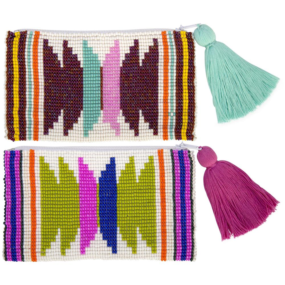 Good Karma Beaded Pouch