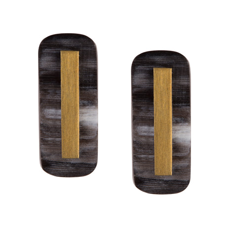 Martina Rectangular Post Earrings