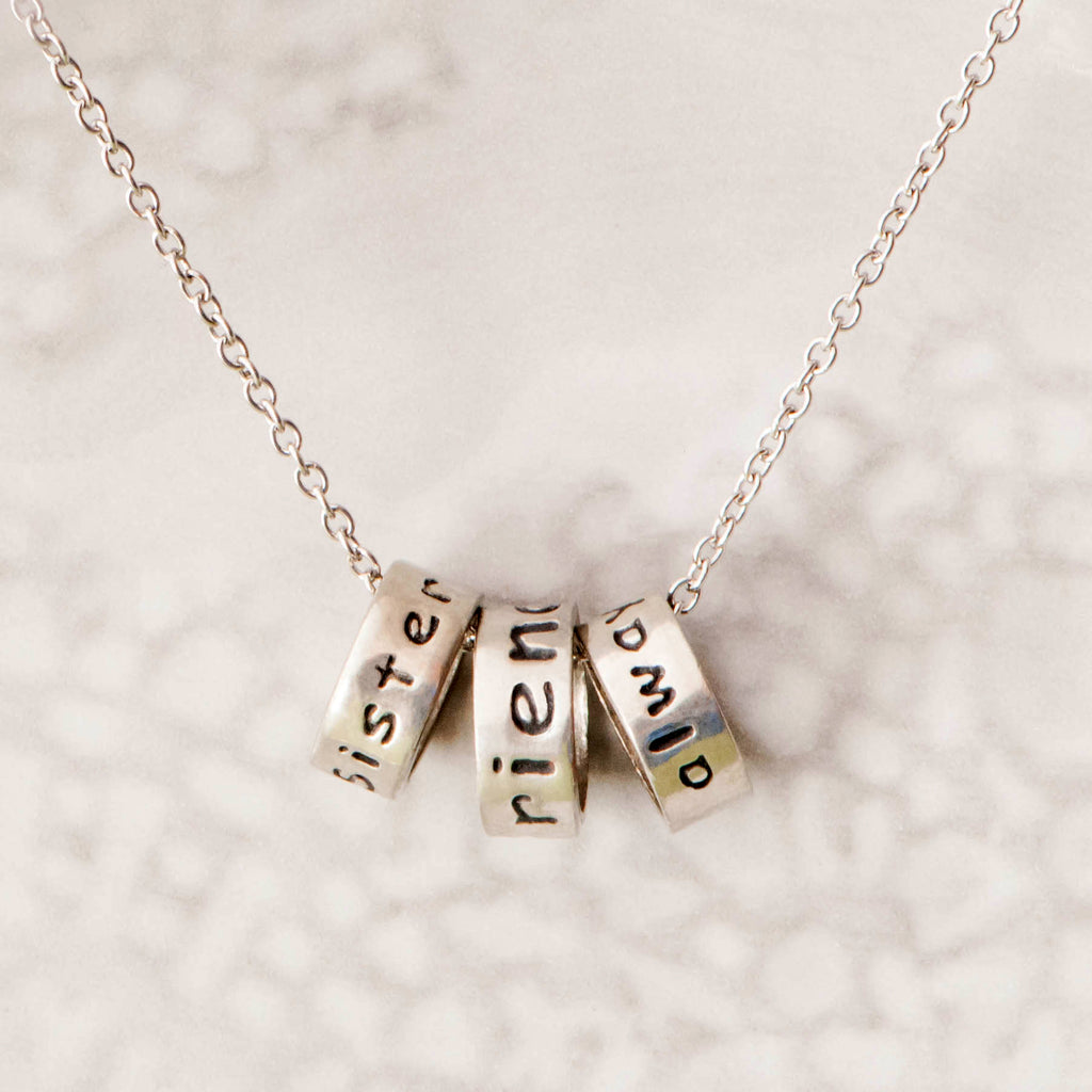 Sisters, Friends, Always Necklace